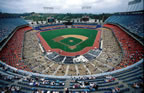 Dodger Stadium after remodeling (2001)
